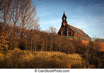 St Marys church stockport - St Mary's church located in the...