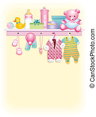Baby girl garment - Clothes and accessories for baby girl