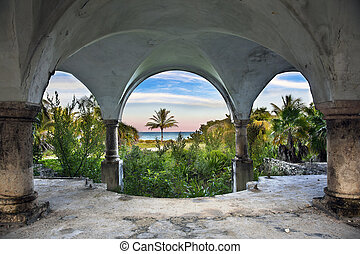 Beach Front Mansion - A beautiful view of the ocean from...