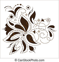 Vector flower design