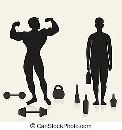 Sportsman and alcoholic - The sportsman and the alcoholic in...