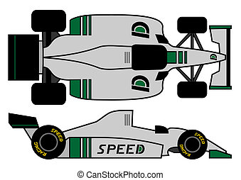 1980 formula car - Design of 1980 formula car