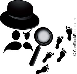 Detective tracks - Creative design of detective tracks