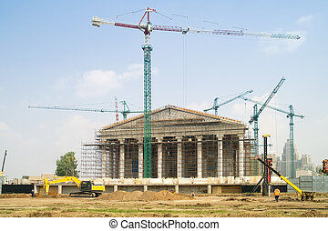 Astana is built - Photo of the capital of the Republic of...
