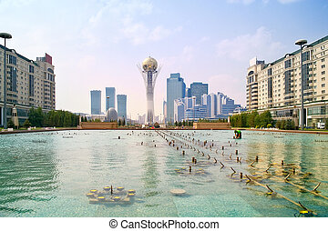 Astana. Municipal landscape - Photo of the capital of the...