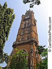 Clock Tower of Mumbai University, India