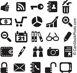 Collection icons.