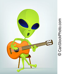 Cartoon_Character_ALIEN_064_CS5 - Cartoon Character Funny...