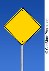 Blank Road Sign (with Pat