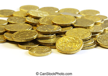 Australian Dollar Coins - Australian one dollar and two...