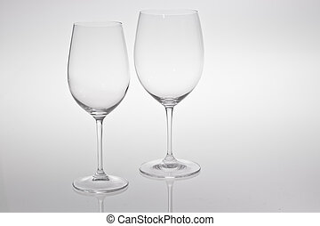 White and Red Wine Glass - White Red Wine Glass