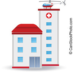Hospital. Vector illustration for you design
