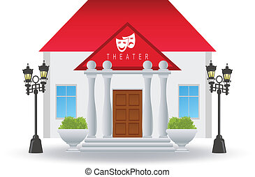 Theater. Vector illustration for you design