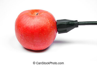 Apple Power - Behold the power of the juicy red apple