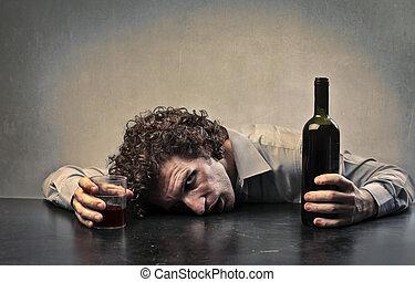 man drunk