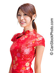 Chinese girl - Abundance chinese girl in traditional Chinese...
