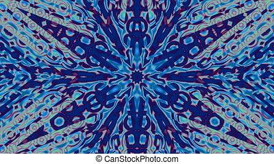 Pattern - a snowflake