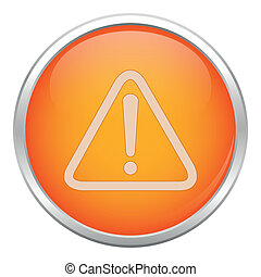 Orange warning icon