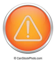 Orange warning icon