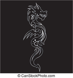 dragon tattoo art