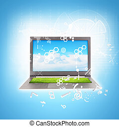 E-Business - Best Internet Concept of global business from...