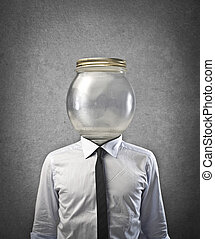 man without head - businessman without head