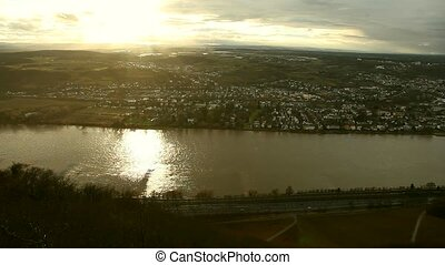 Germany: River Rhine near Bonn