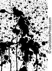 Blotted background - Blotted grunge background for various...