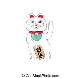 Traditional Chinese Cat of Luck. Some believe it attracts good fortune.