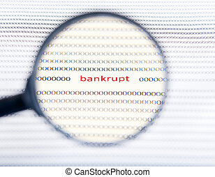 The concept of bankruptcy