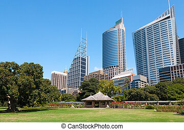 Sydney, New South Wales, Australia - Royal Botanic Gardens...