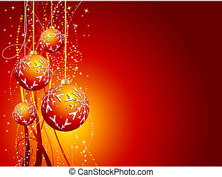 Christmas decorations - Decorative Christmas background