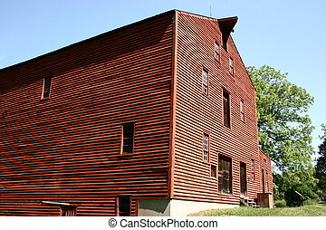 Old Mill - Old historic mill at Backus Heritage Village...
