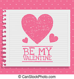 valentines day - Illustration be my valentine. Valentines...