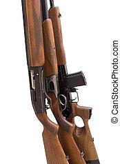 el, caza, Arma