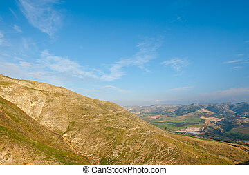 Landscape - Mountains on the Golan Heights, Israel