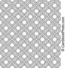 Seamless traditional pattern