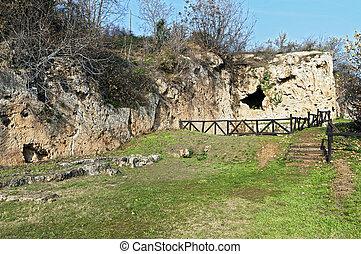Aristoteles, antiga, escola, Grécia