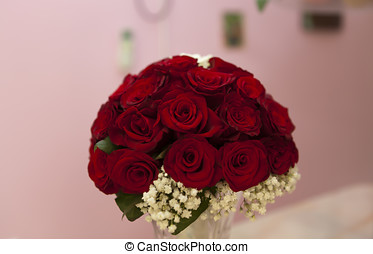 Beautiful bouquet of roses - Beautiful bouquet of red roses
