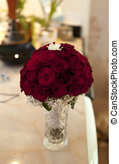Beautiful bouquet of roses - Beautiful bouquet of red roses...