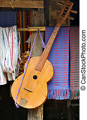 Mountaineer 's guitar - wooden guitar from mountaineer,...