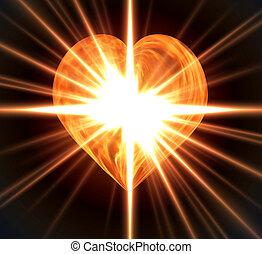 ardente, Coração