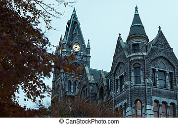Old City Hall in downtonw of Richmond - Old City Hall in...