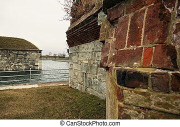 Fort Monroe in Hampton, Virginia