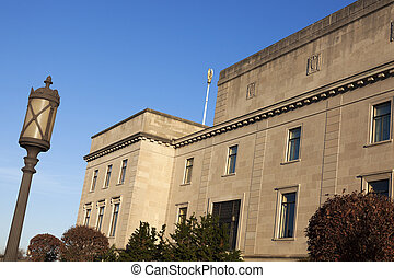 Old architecture of Trenton
