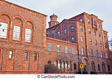 Historic school in Harrisburg - Historic school in downtown...