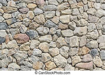 mountain stone wall cladding - various size of mountain...