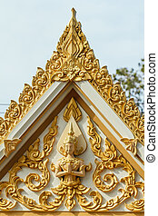 The temple in Bangkok, Thailand