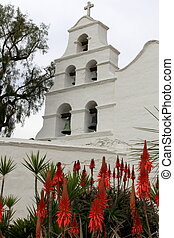 San Diego Mission - Outside shot of the San Diego Mission...