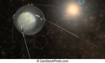 Sputnik 1 - 1957 Sputnik 1 first artificial earth satellite...